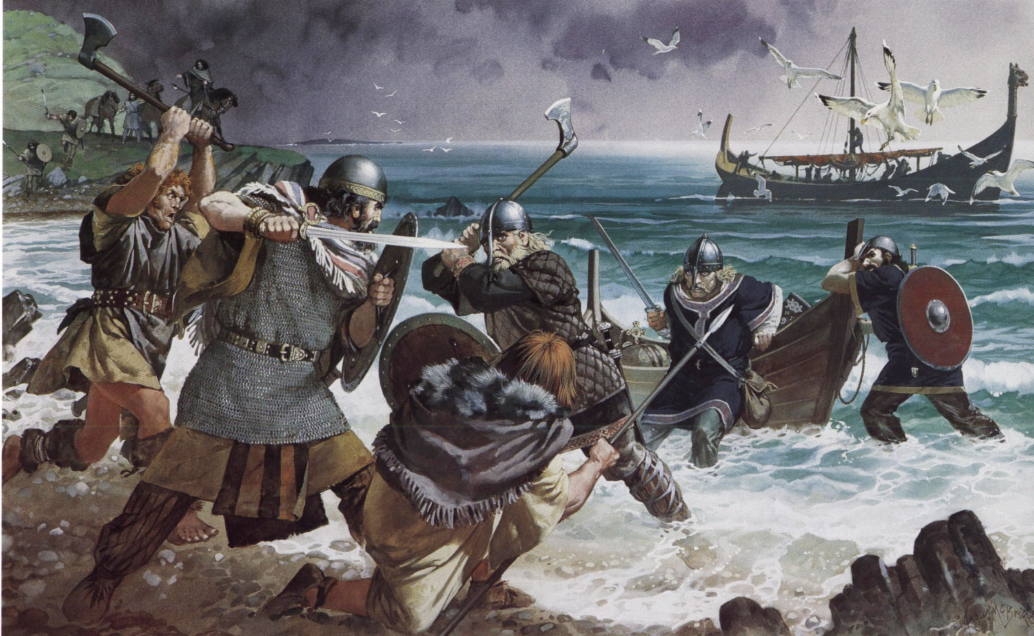 a brief history and an introduction to the vikings the ancient warriors from scandinavia Who the vikings really were – the vikings at home the major bbc series a history of ancient britain (2011) and vikings a brief history of the vikings.