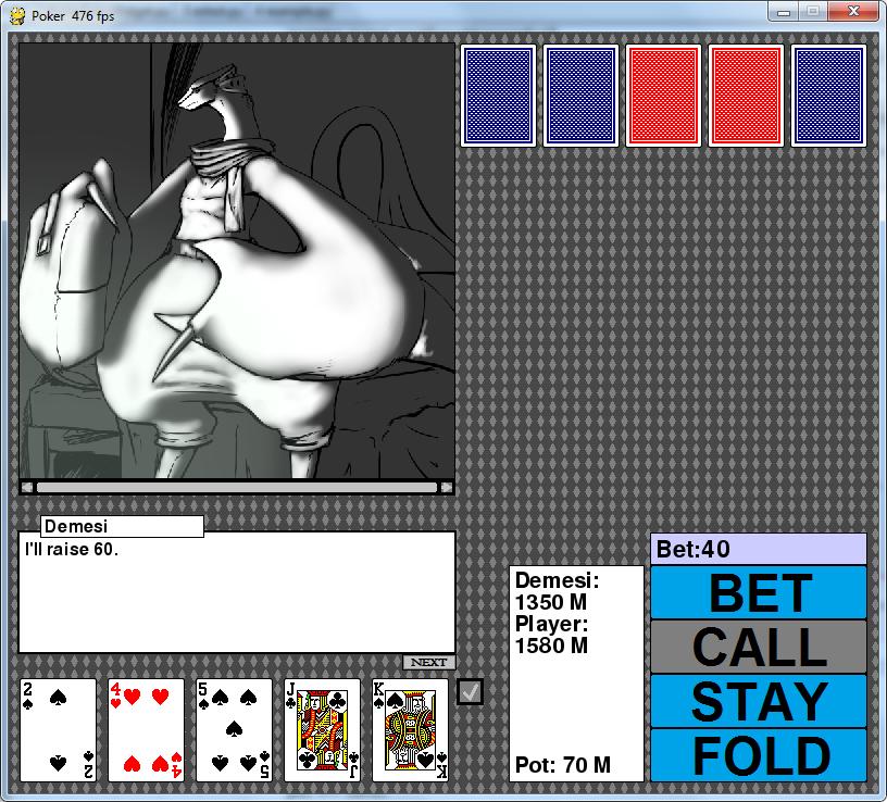 Desktop strip poker